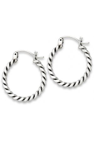 Bali ear hoops Gilian - 30 mm