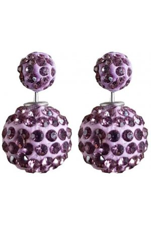 Double Disco Dots Mini Paars