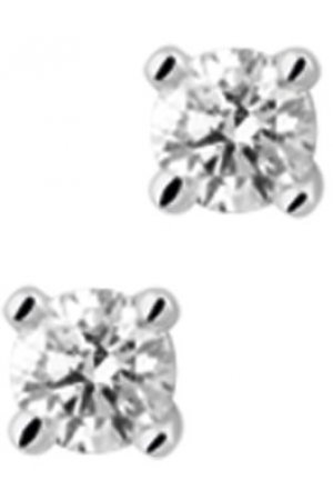 The Jewelry Collection Oorknoppen Diamant 0.40 Ct. - Witgoud