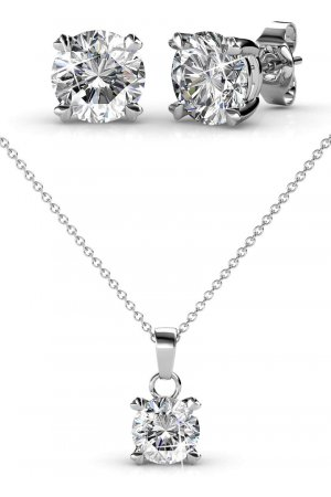 Yolora sieraden - Oorbellen set met Crystals from Swarovski ® - Toronto - Dutch Beauty Design